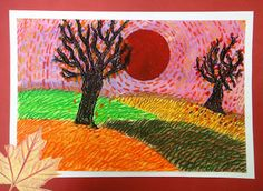 6th Grade: Van Gogh Autumn Landscapes