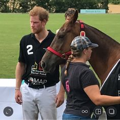 16.07.2017 | Prince Harry at the Tiffany & Co Royal Polo Cup