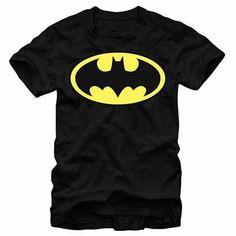 Batman Basic Logo Black T-Shirt
