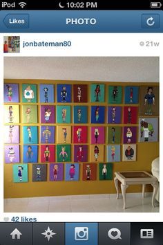 Paintings of All the Total Drama Characters:) like everyone! Except revenge of the island...