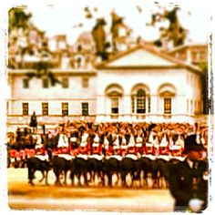 Trooping of the Colour at Horse Guards Parade 2012
