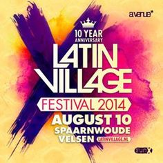 DJ Moortje and MC Vocab Latin Village Promo 2014