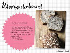 meerzadenbrood | Kruimels & Kaneel