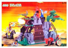 Lego Dark Dragons Den Dragon Master 6076 Building System Collectible Toy * Click on the image for additional details.