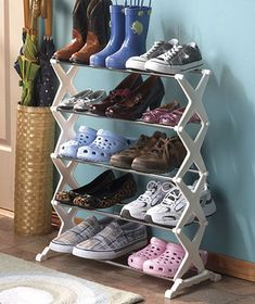 The Lakeside Collection® 5-Tier Shoe Rack  $9.95 each