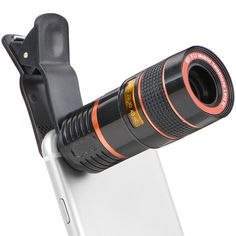 For Xiaomi Redmi Note 3 Pro/Huawei P8 P9 Lite Y6 Mini 8x Zoom Telescope Camera Lens Mobile Phone Telephoto Lentes Lenses Adapter //Price: $US $7.90 & FREE Shipping // #iphone