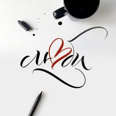 Calligraphy Letters, Typography Letters, Modern Calligraphy, Brush Lettering, Lettering Design, Mood Words, Word Fonts, Beautiful Handwriting, Handwritten Fonts