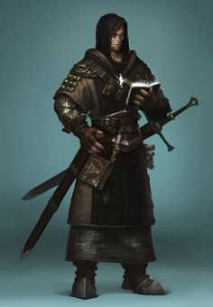 Holy Knight, Seung Min Kang on ArtStation at https://www.artstation.com/artwork/holy-knight