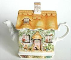 Cocina Mickey Mouse, Teapots And Cups, Teacups, Teapot Design, Keramik Design, Tea Blog, Tea Pot Set, Tea Sets, Teapots Unique