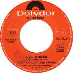 Electric Light Orchestra- Evil Woman - 1976