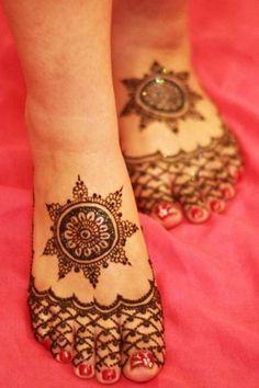 Eid Mehndi Designs for Feet   Fandiz India - Latest Indian Fashion Trends