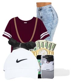 """*Trillest*"" by pinkswagg15 ❤ liked on Polyvore featuring Victoria's Secret PINK, ASOS, women's clothing, women's fashion, women, female, woman, misses and juniors"