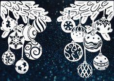 Christmas Signs, Christmas Balls, Christmas Wishes, Christmas Decorations, Christmas Ornaments, Christmas Stencils, Silhouette Curio, Swedish Christmas, Disney Diy