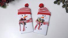 "Новогодняя поделка ""шоколадка-снеговик"" своими руками | Tavifa"