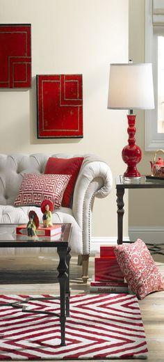 100 Best Red Living Rooms Interior Design Ideas Vignettes Rattan