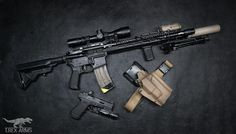 Cool Guns, Awesome Guns, Bcm Rifles, Ar 15 Builds, Ar Build, Custom Guns, Assault Rifle, Tactical Gear, Firearms