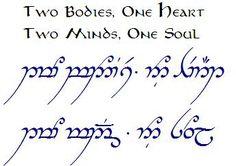 lord of the rings elvish translator - Google Search
