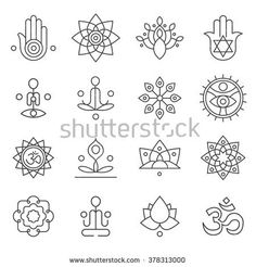 stock-vector-vector-yoga-icons-and-line-badges-graphic-design-elements-or-logo-templates-for-spa-center-or-yoga-378313000.jpg (450×470)