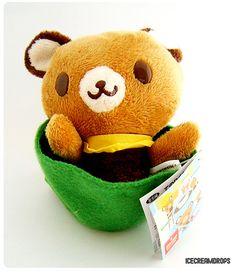 Tenorikuma Bear plush Doll Chai
