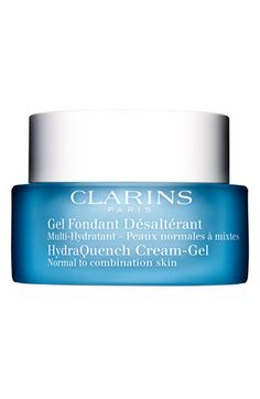 best moisturizer I've ever used, doesn't break me out and not greasy.. Clarins 'HydraQuench' Cream Gel