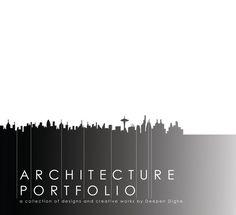 professional Architectural Portfolio  | Architecture Graduate Portfolio on Behance