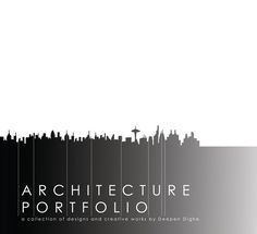 professional Architectural Portfolio | Architecture Graduate Portfolio on…