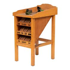 The object of the game is to throw metal discs into various holes which then exit into the corresponding scoring channels.The Frogs mouth being the best scoring. Frog Games, Vintage Games, Decoration, French Vintage, Cool Furniture, Wine Rack, Board Games, Frogs, Antiques