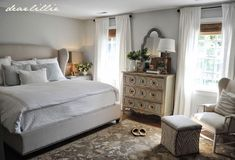 Our Almost Finished Master Bedroom (With Paint Colors and Full Source List) - Dear Lillie