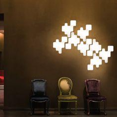 Fancy - Pixel Wall Light by Kundalini