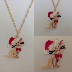 Tuğla Tekniği İle Yapılan Çeşitli Takı Modelleri   Takı Tasarımları Pony Bead Patterns, Peyote Patterns, Beading Patterns, Seed Bead Jewelry, Seed Bead Earrings, Beaded Jewelry, Seed Bead Tutorials, Beading Tutorials, Beaded Animals