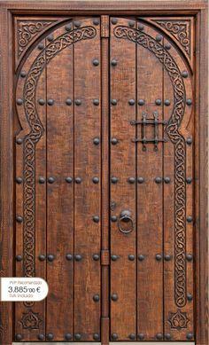 Porton clasico puertas rusticas puertas de madera - Puertas rusticas alpujarrenas ...