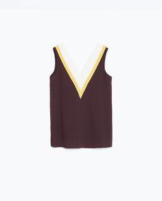 Image 8 de TOP DE TROIS COULEURS de Zara