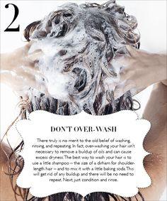 The 10 Commandments of Healthy Hair!