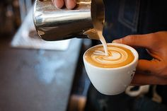 PROCESS: The 5oz. Espresso and Milk by Handsome Coffee | Hypebeast Mobile. My kind of Espresso...