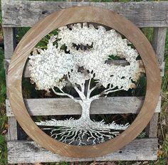 34 Tree of Life Wall Art Rustic Wedding Guest by AshlynColelee