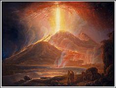 Jacob More (1740–1793), Mount Vesuvius in Eruption.