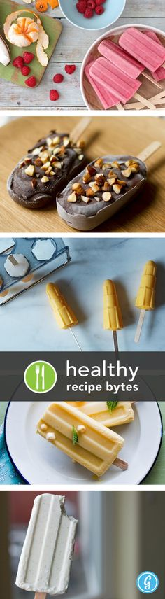 5 healthy popsicle recipes!