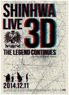 Shinhwa Live 3D: The Legend Continues (신화 라이브 3D 더 레전드 컨티뉴스)