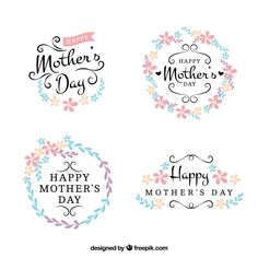 Pretty floral mother day stickers Free V. Mothers Day Quotes, Mothers Day Crafts, Child Quotes, Son Quotes, Daughter Quotes, Family Quotes, Happy Mothers Day Clipart, Mother's Day Printables, Diy Mother's Day Crafts