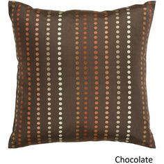 Decorative Sleaford 18-inch ted Poly or Down Filled Pillow
