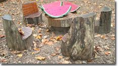 Seating - Natural Play Spaces Elements - Children In Nature - Maryland Department of Natural Resources