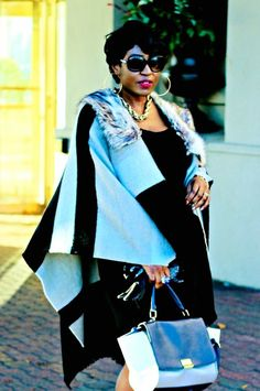 Different ways to style Cape in Fall