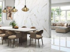 7 Top Tile Trends And Styles For 2021 Living Room Tiles Design, Living Room Flooring, Onyx Tile, Small Tiles, Deco Originale, Concrete Tiles, Style Tile, Outdoor Rooms, Indoor Outdoor