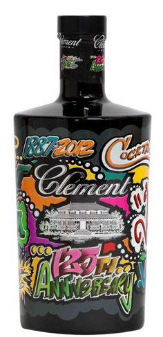 Bouteille Rhum Clément by JONONE (2013/ 125ème anniversaire/Design d'une bouteille de Rhum Vieux Collector)