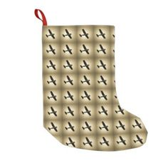 Air Plane Small Christmas Stocking - home gifts ideas decor special unique custom individual customized individualized