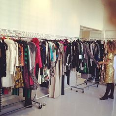 I wish I had this many clothes to choose from.