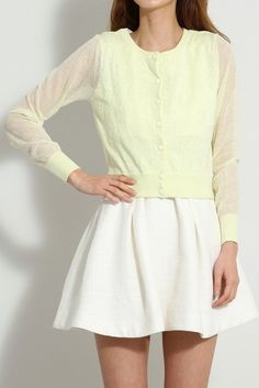 . Titty & Co (Titty & CO) ★ Flower embroidery cardigan [041 517 098] ★ ViVi official fashion mail   NET ViVi CC