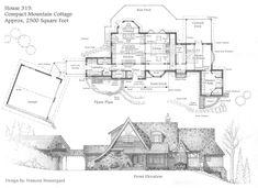 Compact Mountain House by Built4ever.deviantart.com on @DeviantArt