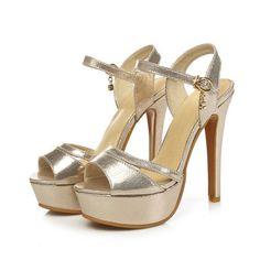 Strappy Metallic High Heel Platform Sandal 3 Colors Size 4 to 15. Platform  PumpsWomen s PumpsPump ShoesWomen s ... fdc590020a51