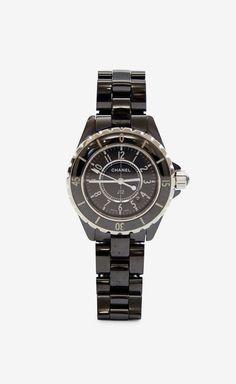 Classic Black Ceramic Chanel Watch
